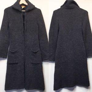 J.Crew Alpaca Blend Long Sweater Jacket sz S
